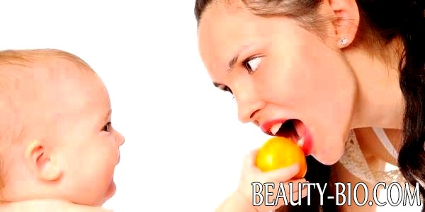 Диета для кормящей матери