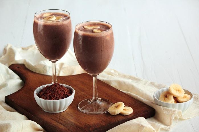 шоколадный смузи рецепт